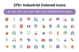 275+ Industrial Colored Icons