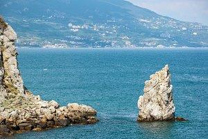 Rocks in the Black Sea