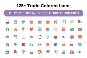 125+ Trade Vector Icons