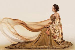 Curtain clothes.