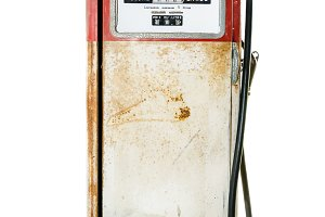Old fuel pump