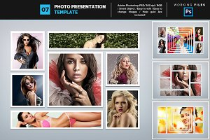 Photo Collage Template 07