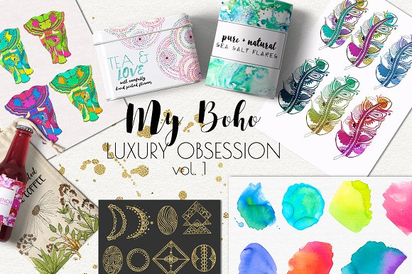 My Boho Luxury Obsession vol.1 - Objects