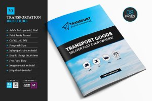 Transportation Brochure Template 30