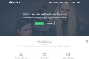 Genisys - Multipage Business Theme