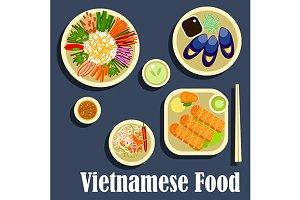 Vietnamese cuisine dinner