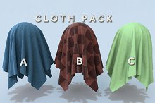 Cloth Pack (Tileable) by  in Fabric