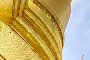 Golden Pagoda. Wat Phra Kaew