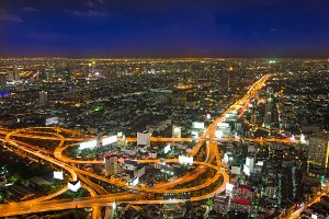 Expressway Highway in Bangkok