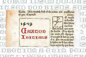 1479 Caxton Initials