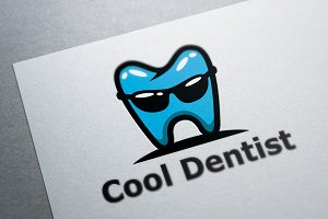 Cool Dental Logo Template