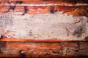 Wooden vintage background Brown color. Selective focus