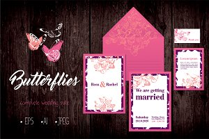 Butterflies- Wedding Suite