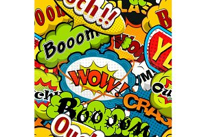 Bright Comics Speech Bubbles
