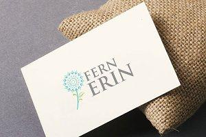 Fern Flower Logo