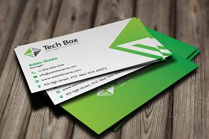 [50% OFF] Tech Box Business Card