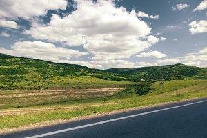 Beautifull and colorfull hills