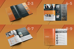 Clean Business Brochure -14pages