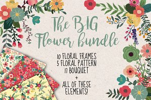 The big flower bundle