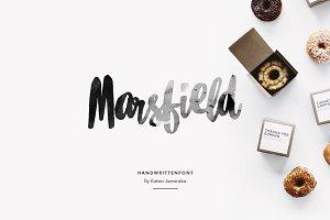 Marsfield | Hand Written Font