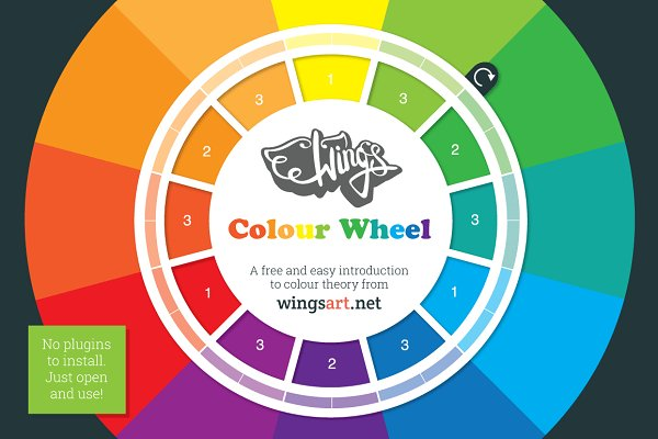 Palettes: Wing's Art - Colour Theory Design Tool