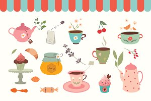 Tea Pack (vector design)