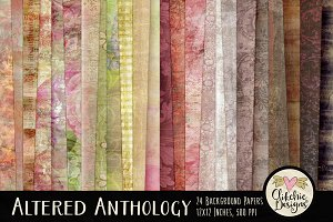 Altered Anthology 24 Shabby Textures