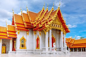 Beautiful Thai temple. Bangkok