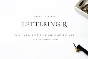 Digitize your lettering!