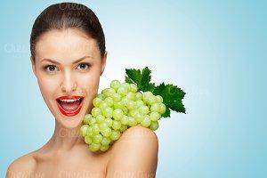 Sexy grape.
