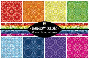 Set 13 - 8 Seamless Patterns