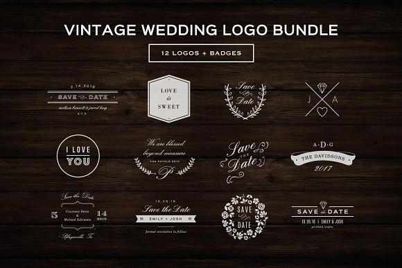 hipster logo bundle logo templates creative market