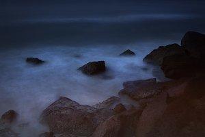 Spooky beach