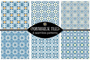 Set 15 - 6 Seamless Patterns
