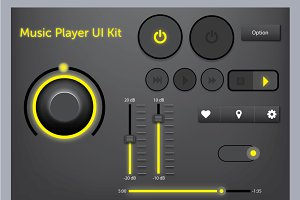 Music Player UI Kit