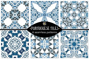 Set 19 - 6 Seamless Patterns