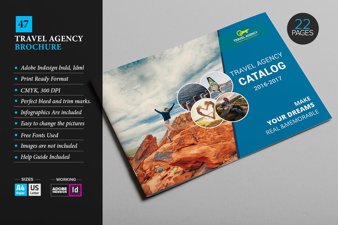 travel agency brochure template - travel agency brochure 47 brochure templates creative