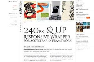 sideWaze 240px & Up Wrapper