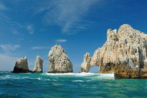 The Golden Arch in Cabo San Lucas
