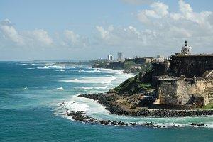Puerto Rico castle