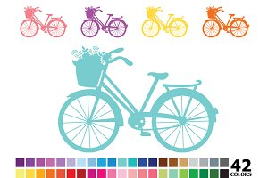 Rainbow Bicycle - 42 Colors