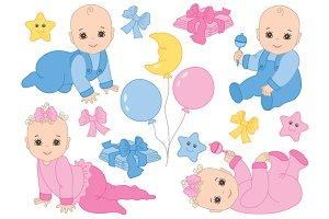 Infant Babies Set