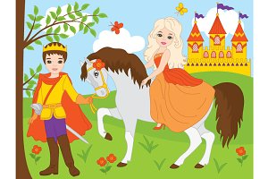 Prince and Princess - Fairy Tale