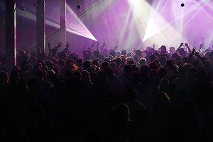 Laser in disco