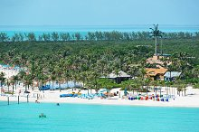 beach on Bahamas