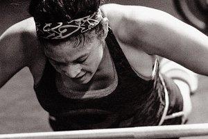 Crossfit Workout Black & White #11