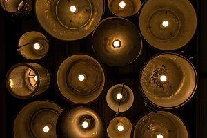 Vintage Lighting decor for building
