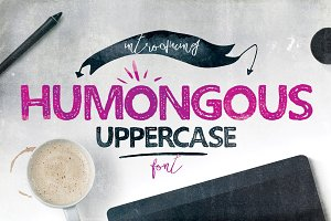 Humongous Font Typeface