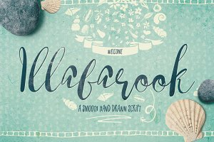 Illabarook Script Font Typeface