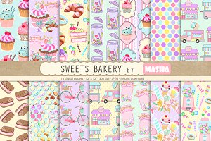 SWEET BAKERY digital papers